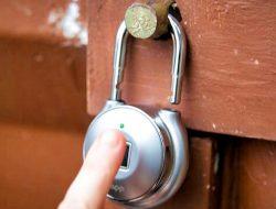 Ổ khoá thông minh Tapplock One mở bằng vân tay, mã morse hoặc smartphone