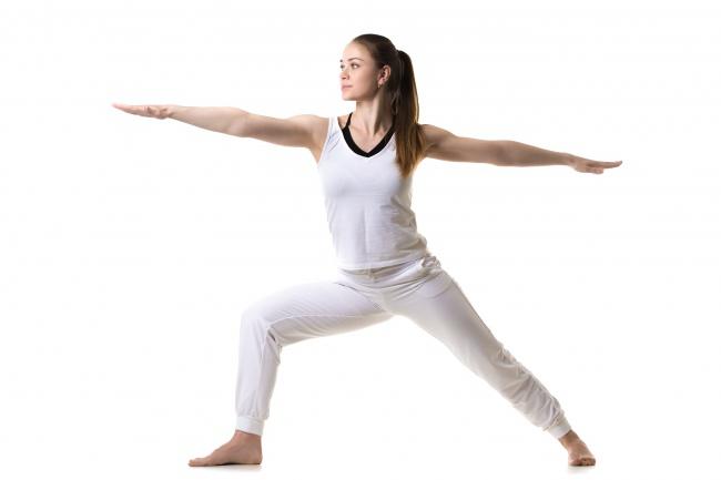Tư thế yoga chiến binh
