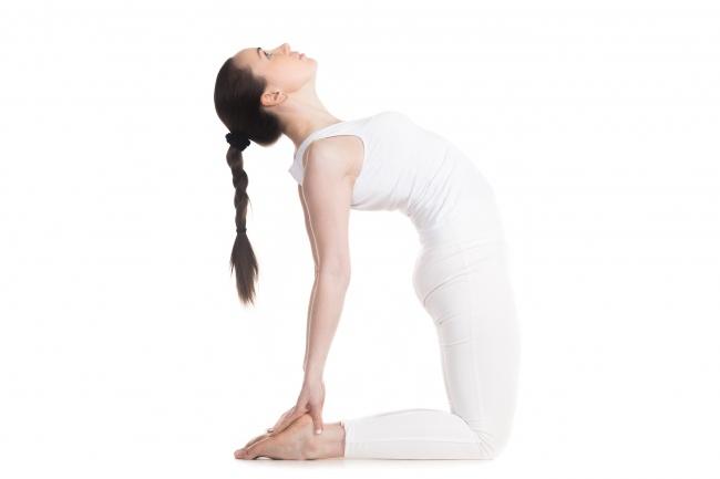 Tư thế yoga lạc đà