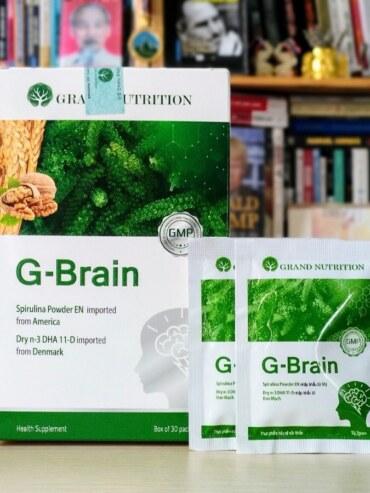 Cốm Trí Não Phát Triển Trí Thông Minh Cho Trẻ G-Brain