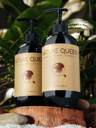 Dầu Gội Giảm Rụng Tóc – Nature Queen Sao Thái Dương