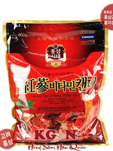 Kẹo Hồng Sâm Hàn Quốc – Ngon Số 1