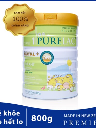 Sữa Bột Trẻ Em Purelac – Nhập Khẩu New ZeaLand