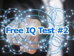 Bài Kiểm Tra Trí Thông Minh – Free IQ Test #2