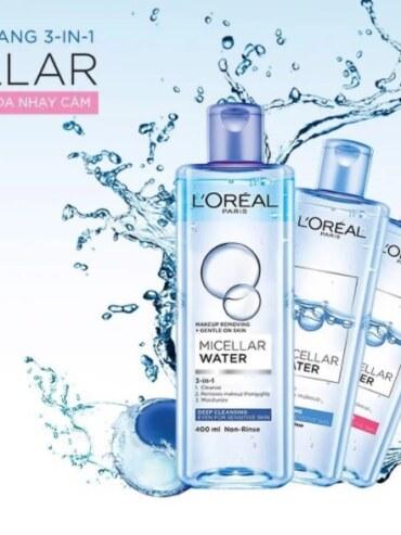 Nước tẩy trang L'Oreal 400ml – Nhập khẩu Pháp